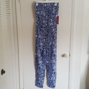 Lilly Pulitzer for Target Strapless Jumpsuit